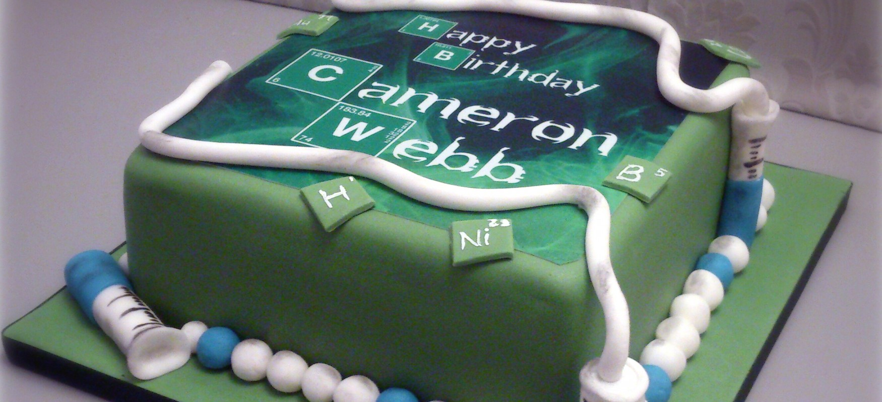 Miraculous Breaking Bad Cake Bakealous Funny Birthday Cards Online Overcheapnameinfo