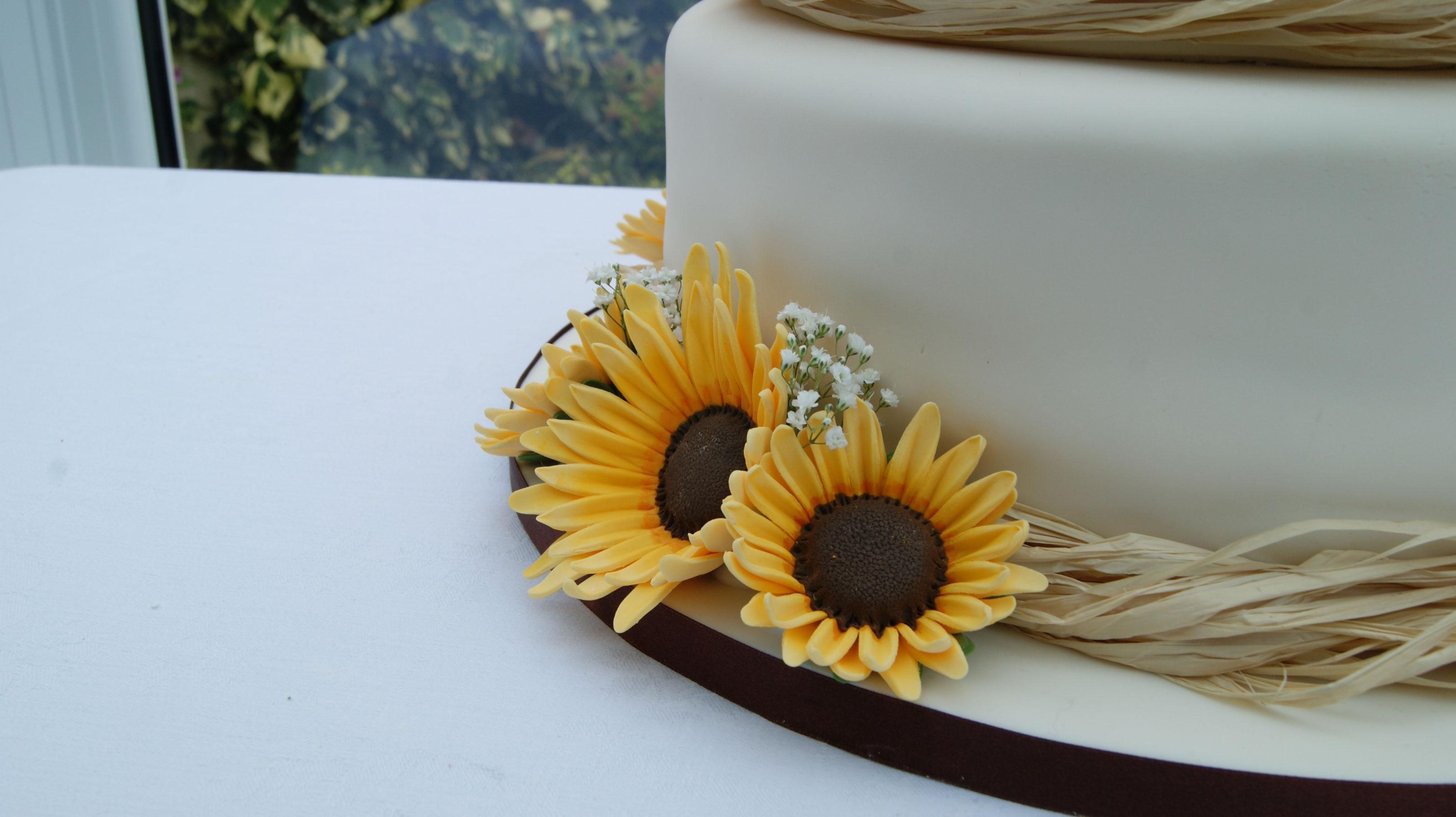 Sunflower Wedding Cake View Gallery Read Post