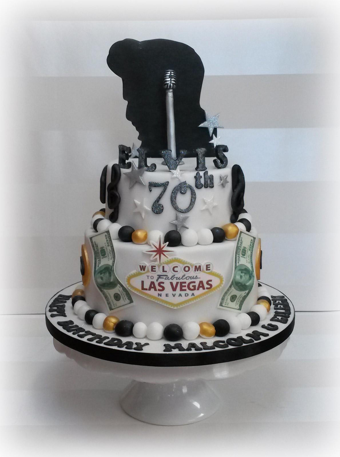 Awesome Elvis Presley 70Th Birthday Cake 2 Bakealous Birthday Cards Printable Opercafe Filternl