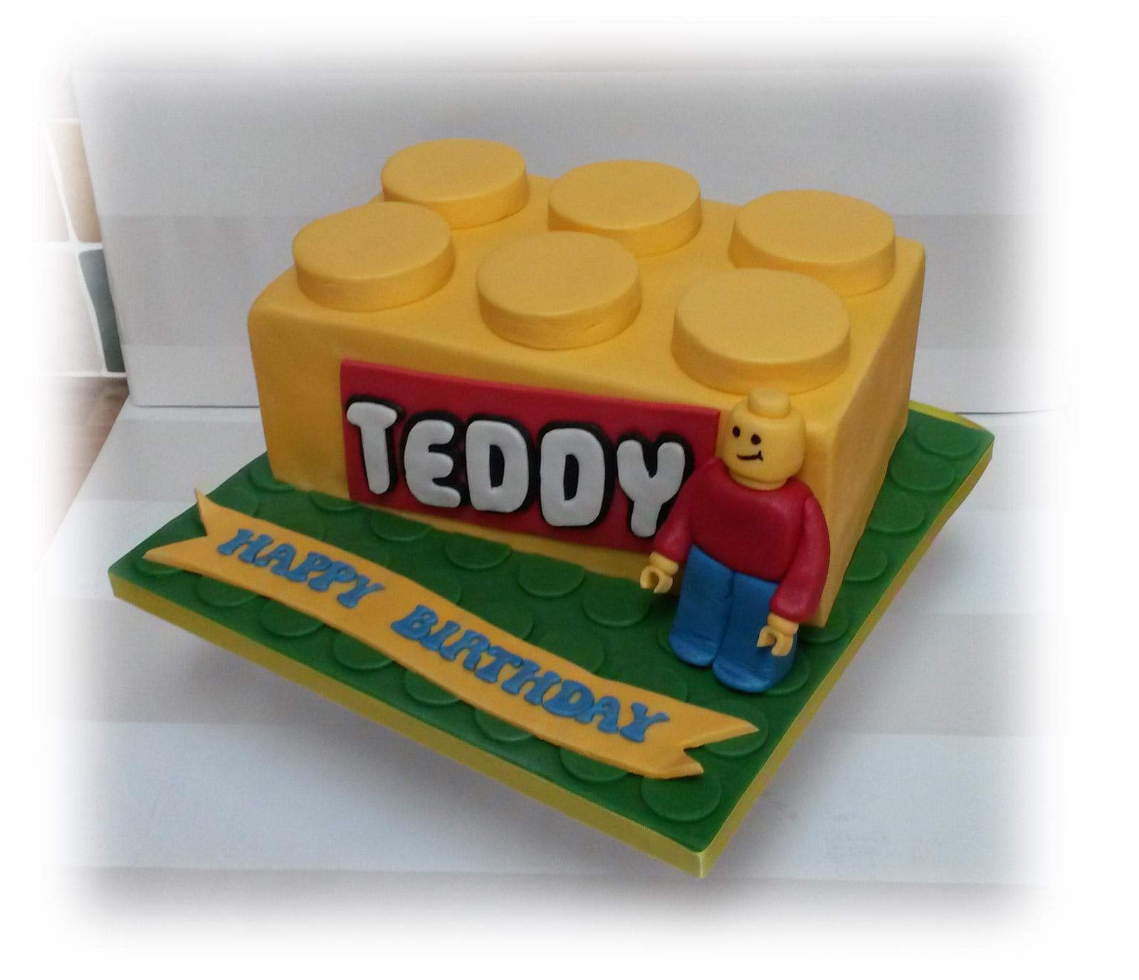 Lego Brick Cake Bakealous