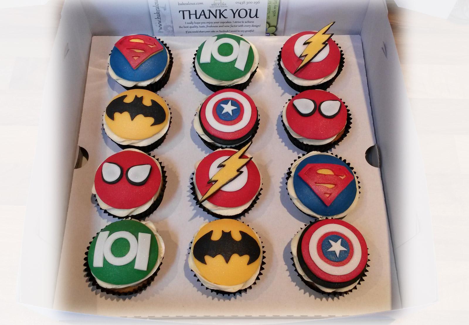 Superhero Birthday Cake Decorations