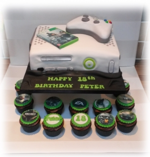 XBOX 360 Cake And Cupcakes View Gallery Read Post