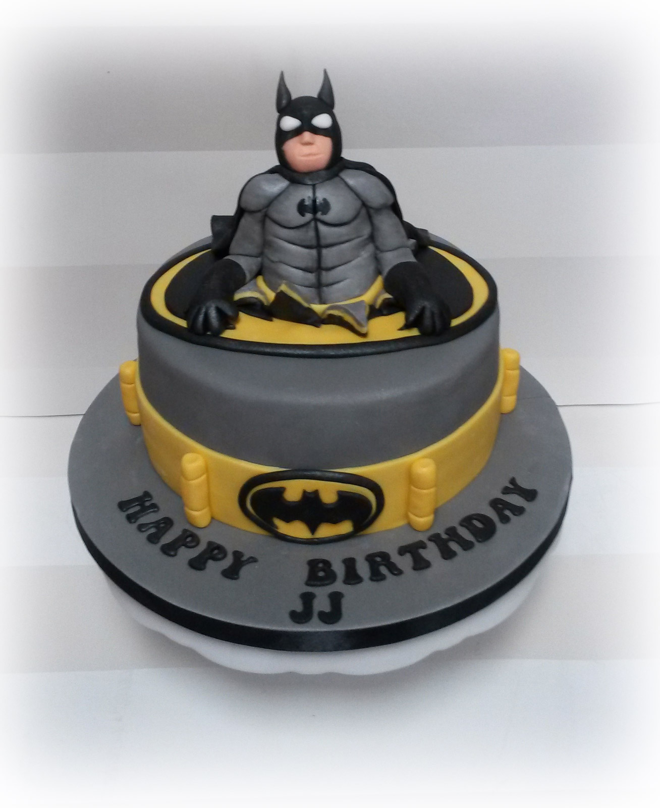 Batman themed boys Birthday Cake Bakealous