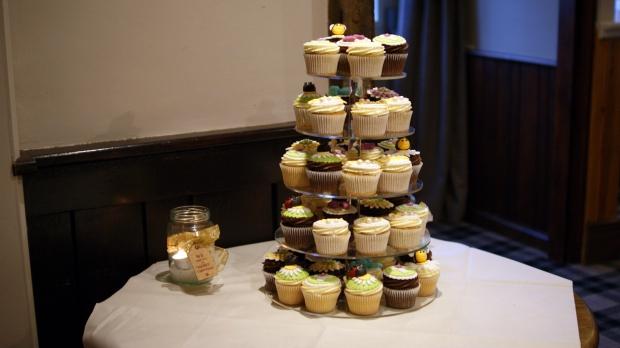 christening-cupcake-tower
