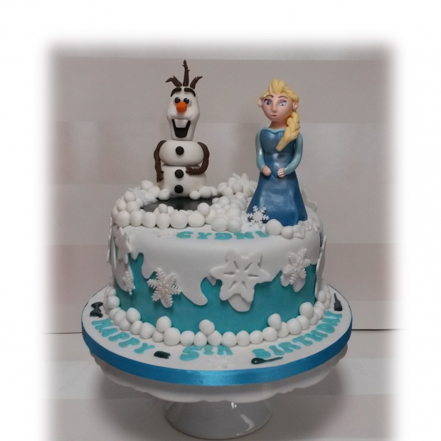 disney-frozen-5th-birthday-cake-1