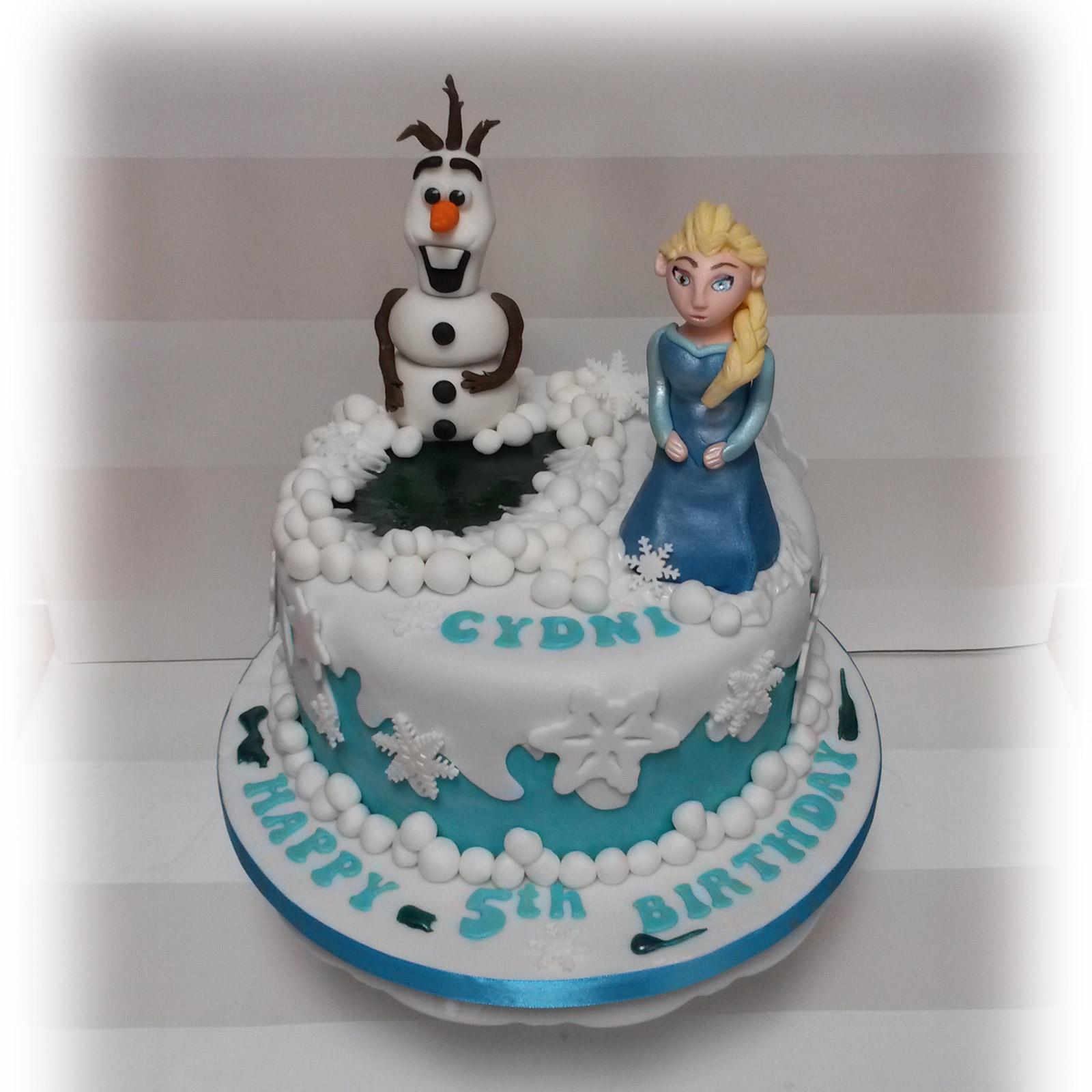 Disney Frozen Elsa Birthday Cake Bakealous