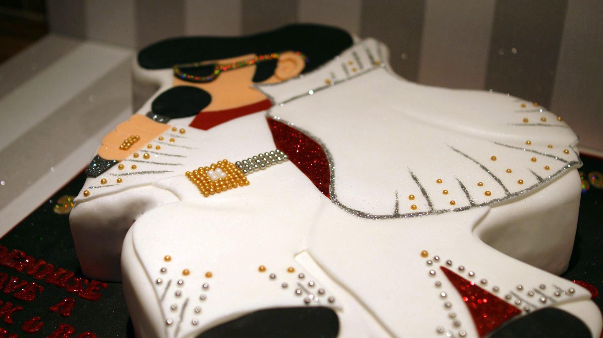 Elvis Presley Cake Decorations