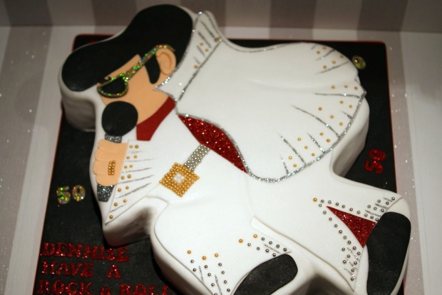 Elvis Presley 50th Birthday Cake Bakealous