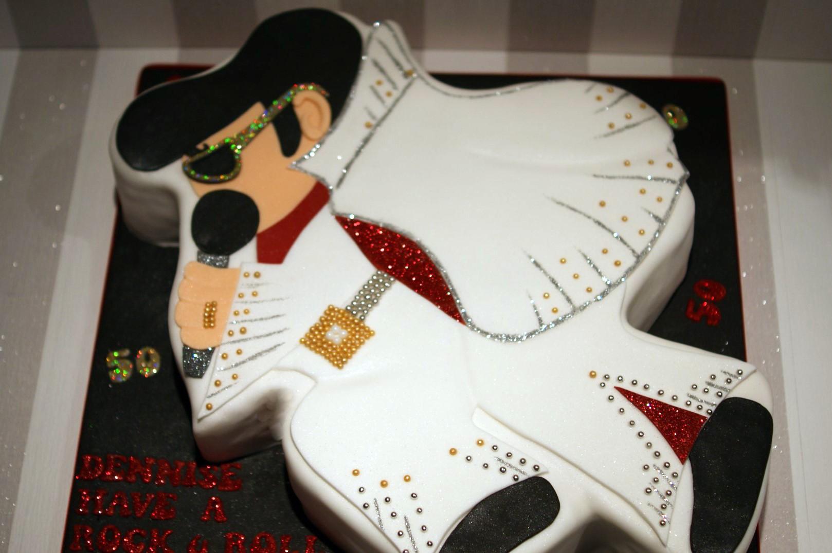 Elvis Presley Edible Cake Ideas And Designs