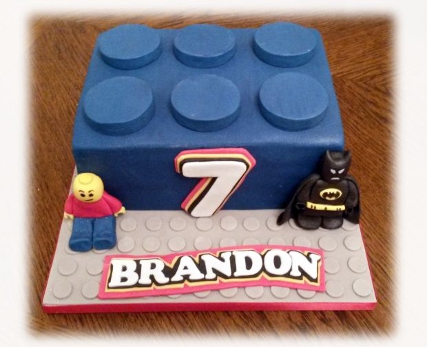 Lego 7th Birthday Cake Bakealous