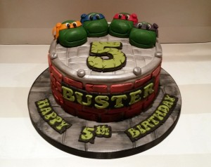 Fantastic Teenage Mutant Ninja Turtles Tmnt Birthday Cake 2 Large Funny Birthday Cards Online Elaedamsfinfo