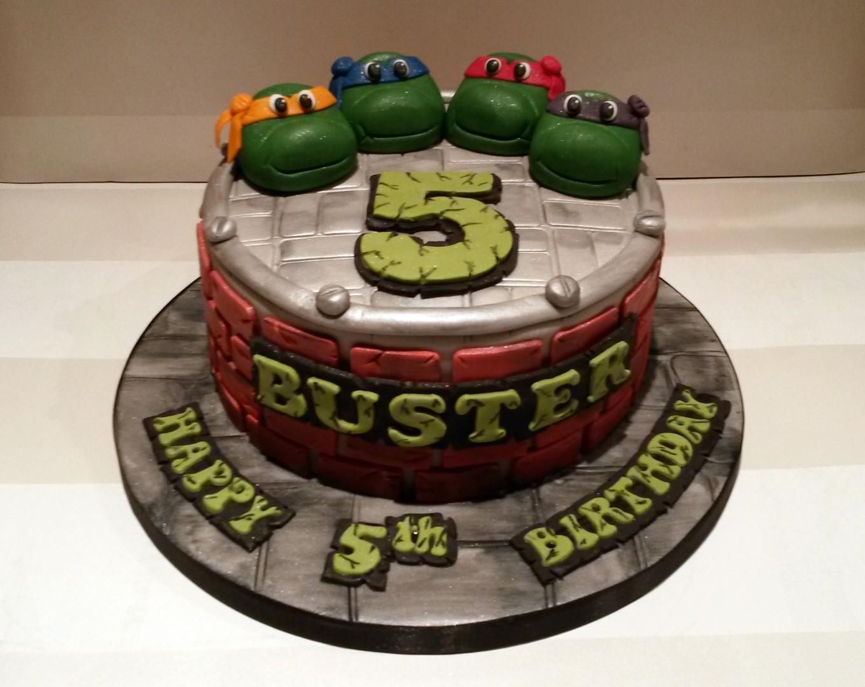 Tmnt Cake Ideas