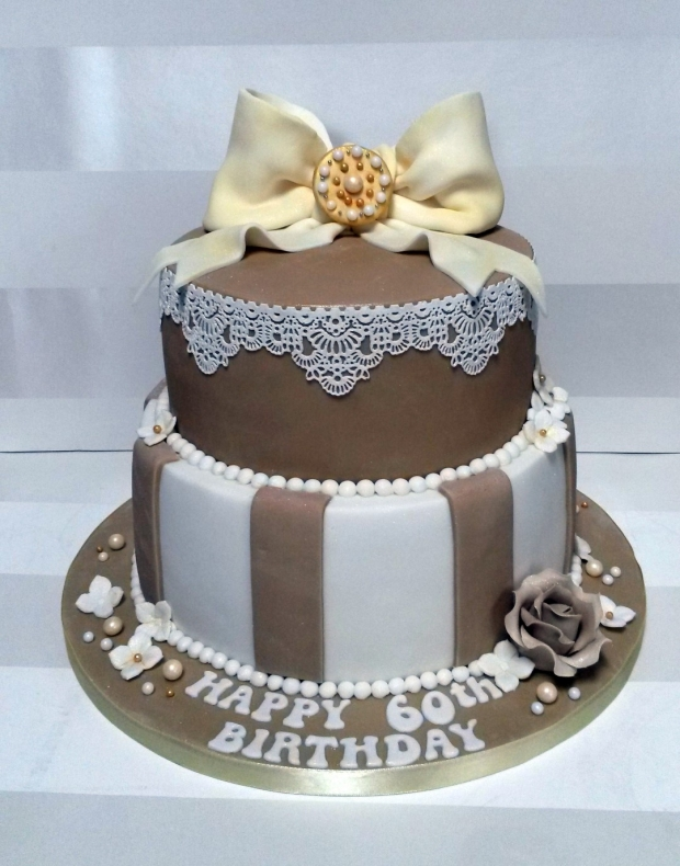 Vintage Style 60th Birthday Cake Gallery