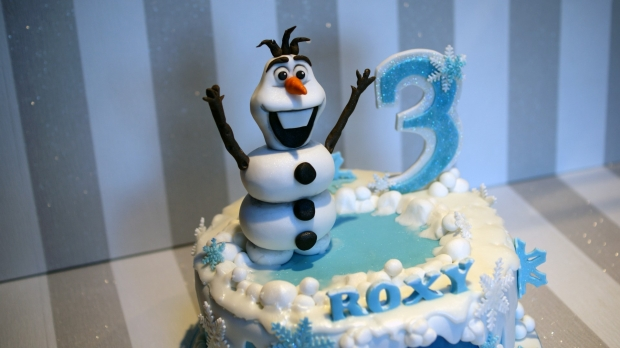 Disney Frozen Cake Olaf and Elsa Birthday Cake Bakealous