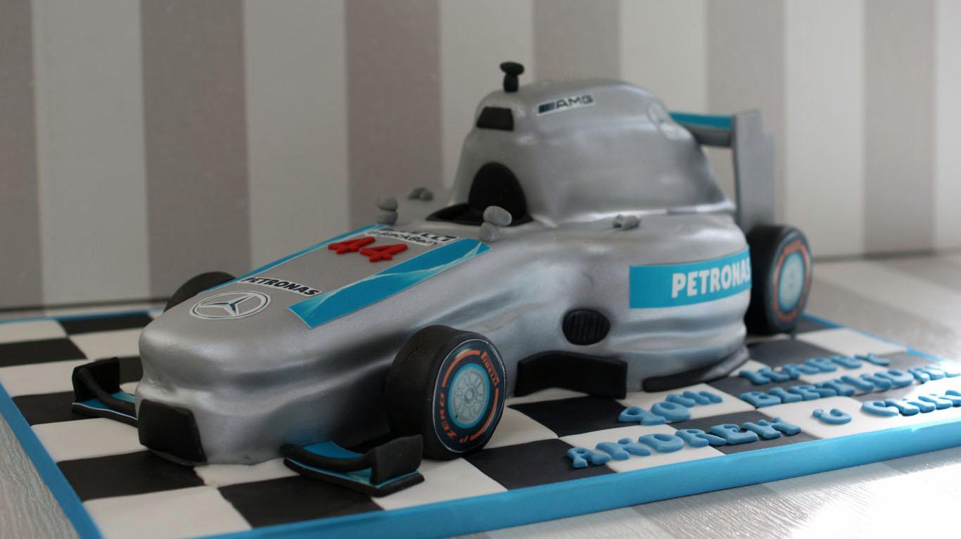 Lewis Hamilton Cake