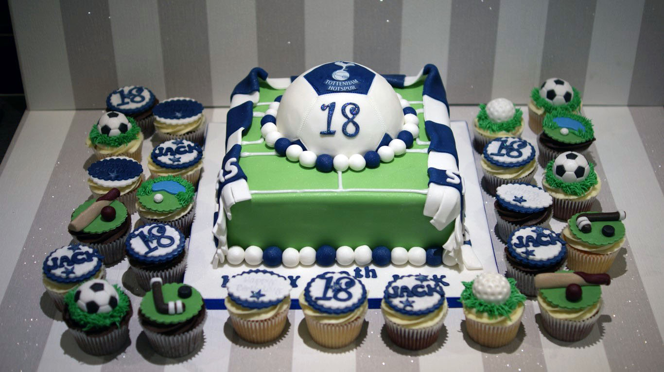 Tottenham Hotspur 18th Birthday Cake Bakealous