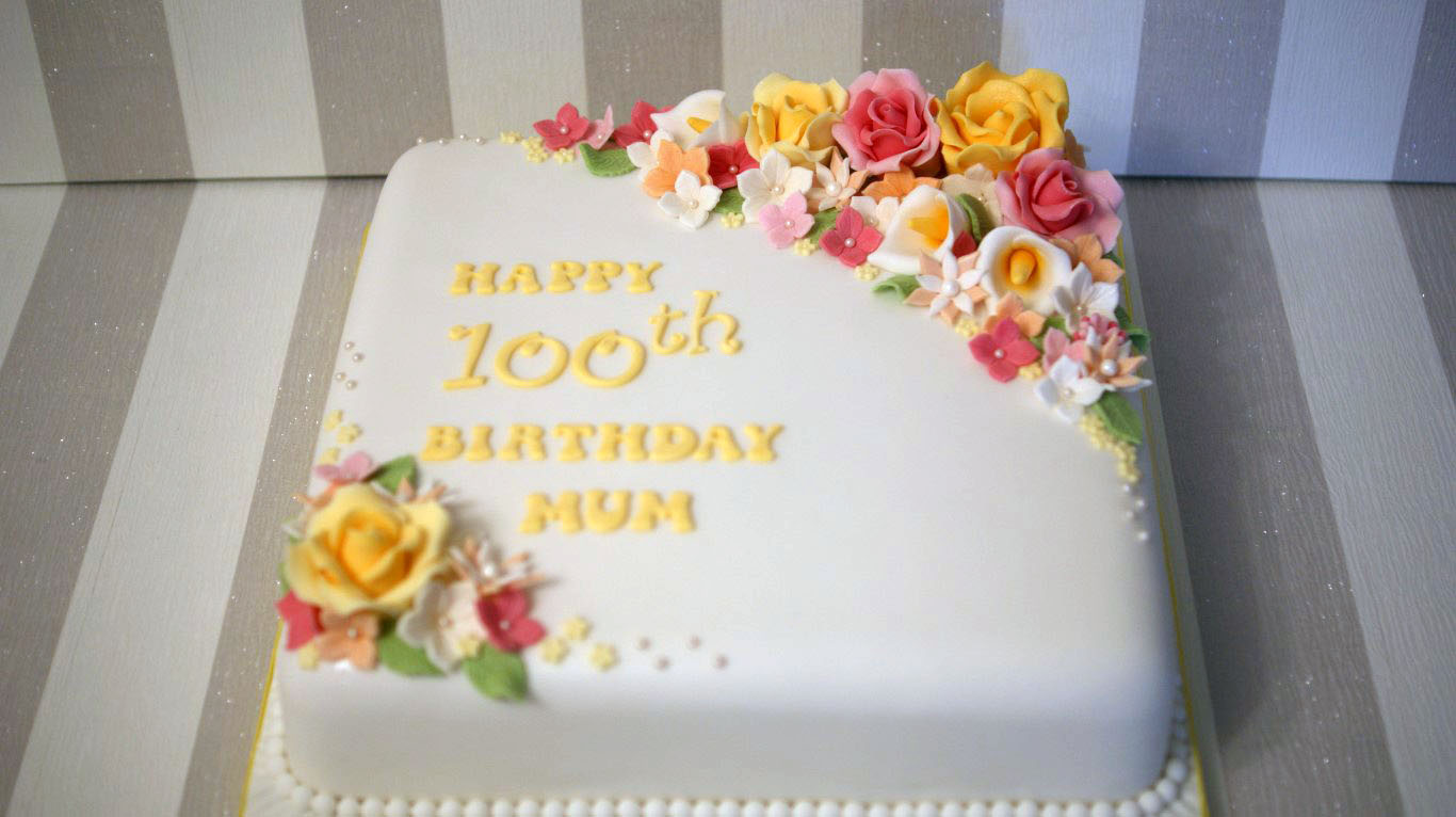 Th Birthday Cake Ideas For Ladies