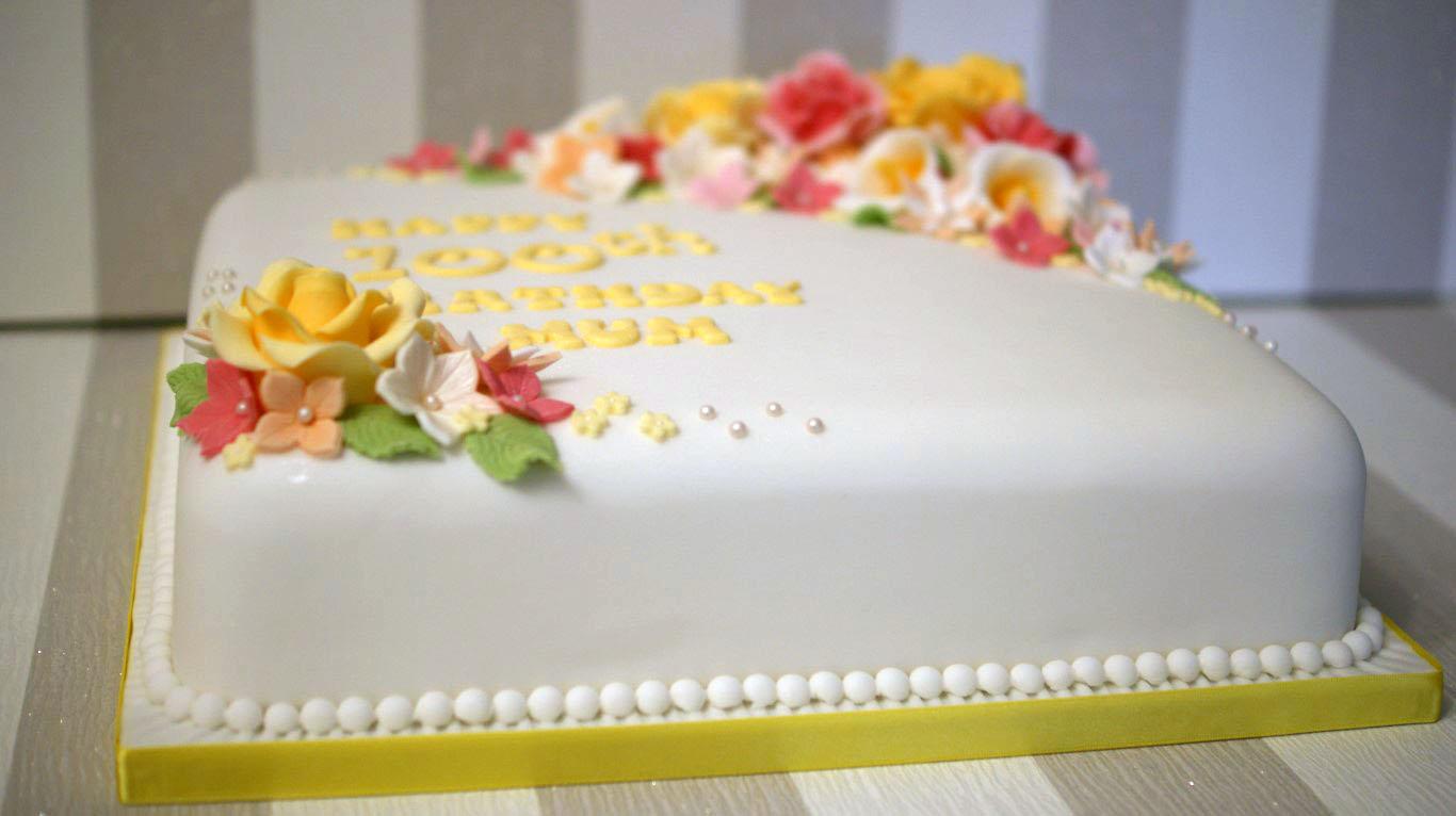 100th Birthday Cake Bakealous