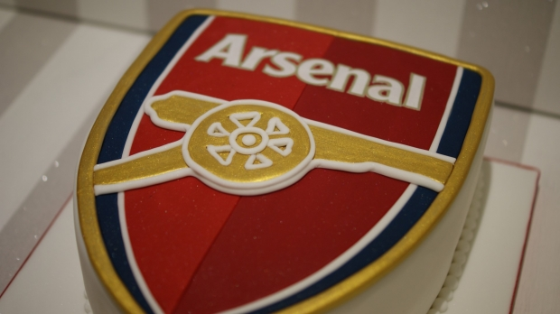 Arsenal Shield Birthday Cake