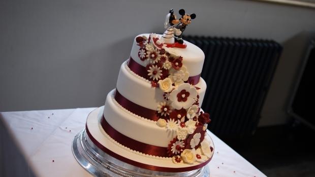 disney-3-tier-wedding-cake-draped-floral-design (1)