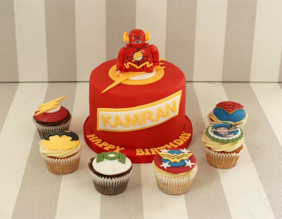 Flash Gordon Cake