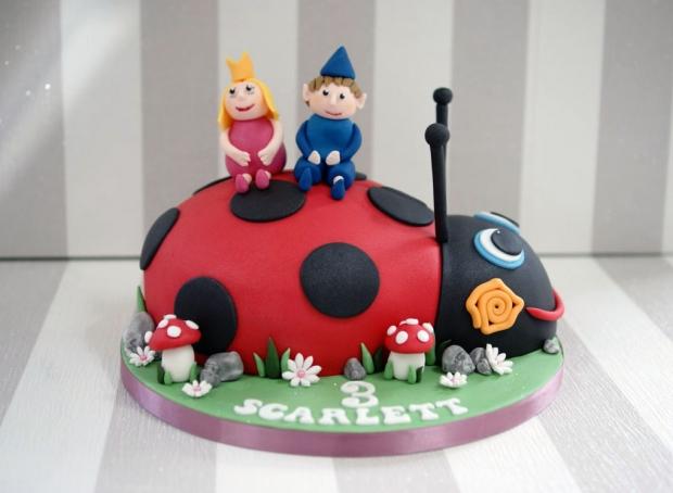 ladybird-3rd-birthday-cake (6)