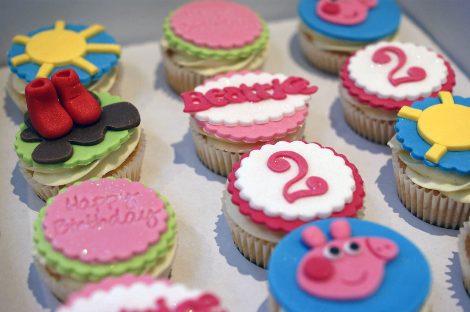 Peppa Pig Nd Birthday Cake
