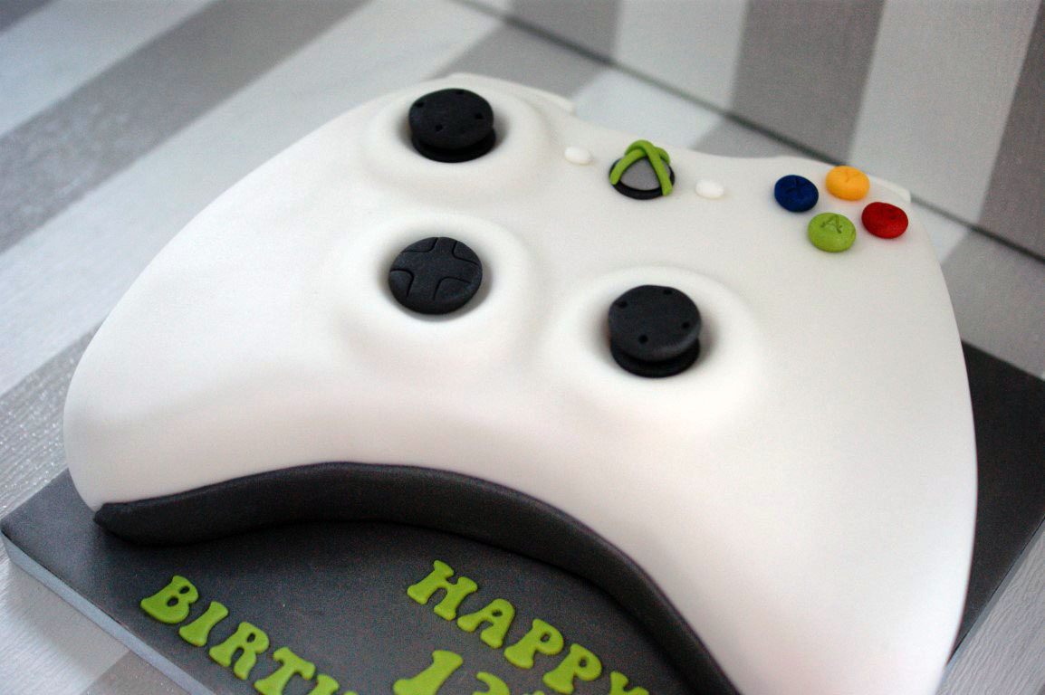 X Box Controller Birthday Cake