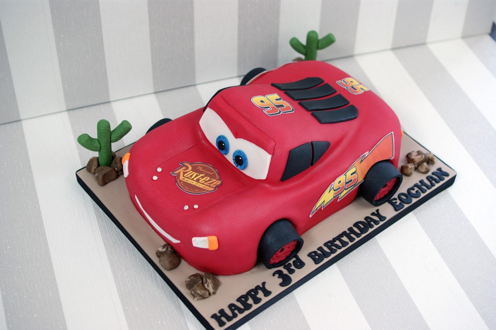 Wedding Car Cake