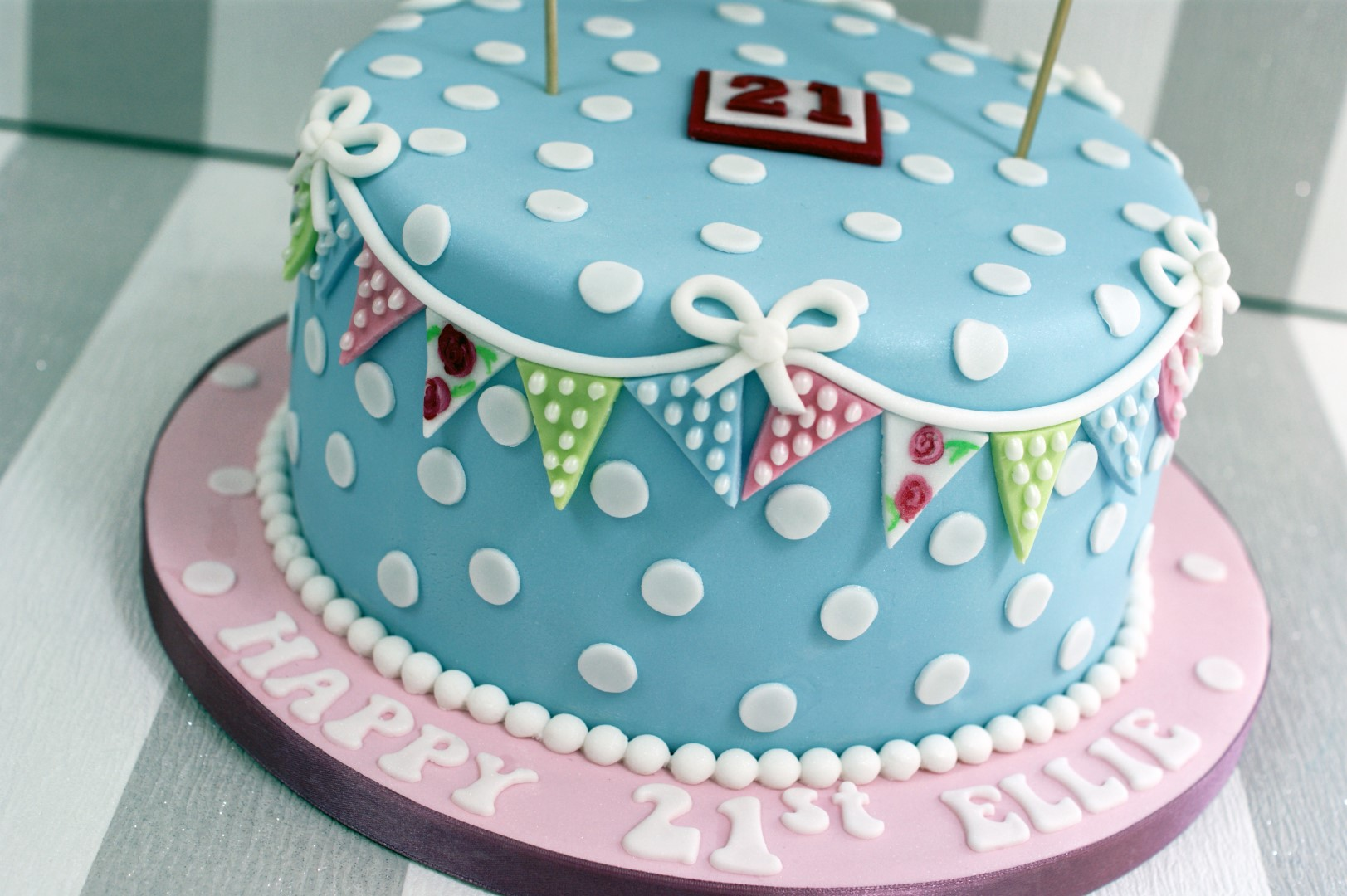Cake Pictures For St Birthday