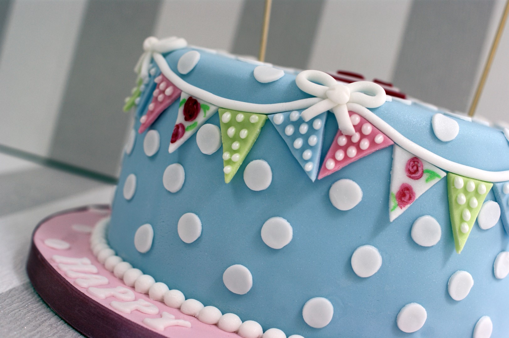 Cath Kidston Wedding Cake