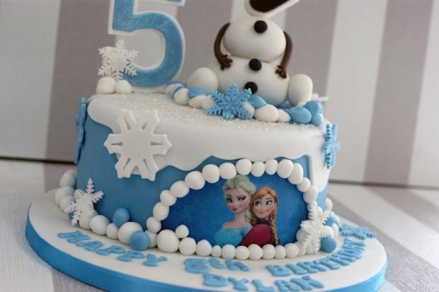 birthday cakes olaf disney frozen 5th birthday cake posted 2 years ago ...