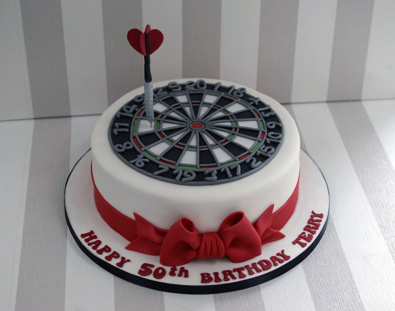 dartboard 50th birthday cake 2 Images Of Th Wedding Anniversary Cakes