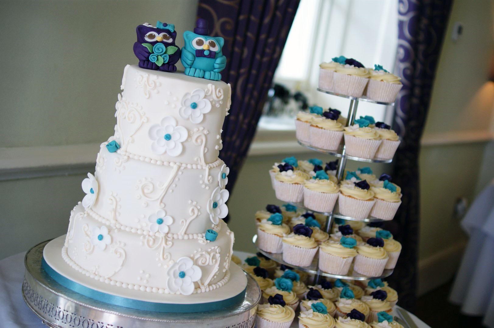 Owl Wedding Cake Bakealous