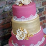 3-tier-pink-and-gold-lace-wedding-cake (11)