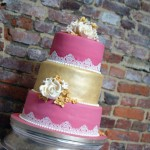 3-tier-pink-and-gold-lace-wedding-cake (7)