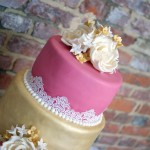 3-tier-pink-and-gold-lace-wedding-cake (8)