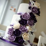purple-rose-cascade-wedding-cake-5