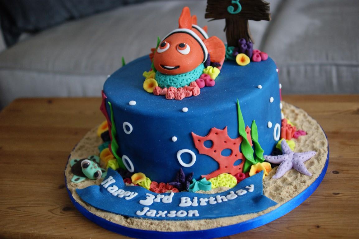 Finding Nemo 3rd Birthday Cake