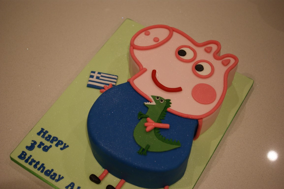 Cake Peppa Pig George